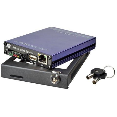 Автомобильный видеорегистратор на 4 камеры SDVR004