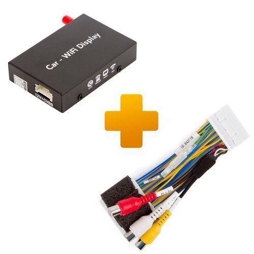 Адаптер дублирования экрана Smartphone/iPhone и кабель подключения для мониторов Toyota Touch 2 / Entune