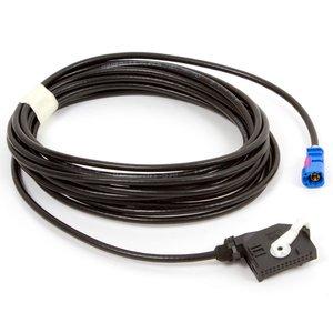 RGB кабель для під'єднання камери заднього виду в Volkswagen з головним пристроєм RNS510, RNS315, RCD510 з відеовходом