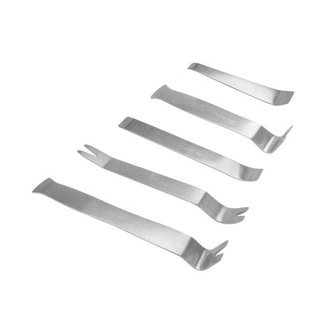 Car Trim and Panel Removal Tools Kit Stainless Steel, 5 pcs.