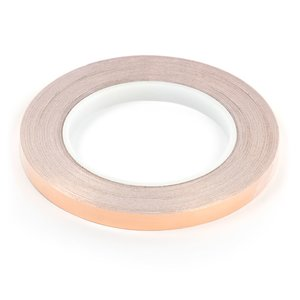 Copper Foil, (copper with conductive adhesive , 0,05 mm, 10 mm, 30m)