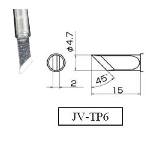 Soldering Tip Jovy Systems JV-TP6