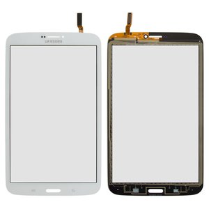 Touchscreen for Samsung T3100 Galaxy Tab 3, T3110 Galaxy Tab 3 Tablets, (white, (version 3G))