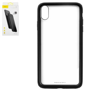 Case Baseus Apple iPhone XS Max, (black, transparent, shockproof ) #WIAPIPH65-YS01