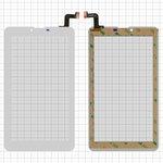 """Сенсорный экран Elenberg TAB740; Irbis TZ47, TZ70; Nomi C07004 Sigma+, C07006 Cosmo+ ; Prestigio MultiPad Wize (PMT3407); Digma  Hit 4G, Plane 7.4 4G, 7"""", 184 мм, 104 мм, 31 pin, тип 1, с датчиком приближения, емкостный, белый, #MTCTP-70760/MTCTP-70152/DP070023-F1/ZHC-0525A/FPC-FC70S786-00 FHX/FPC-CY70S217-00"""