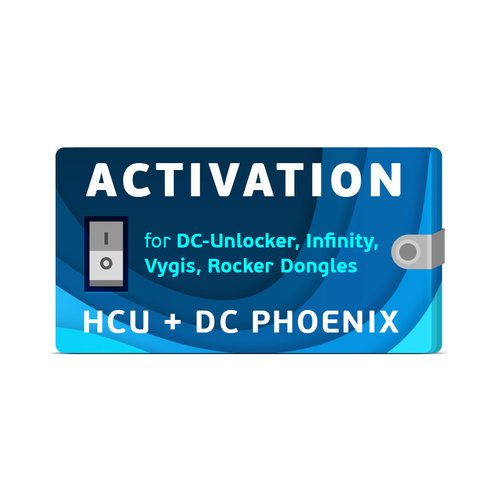 Активация HCU + DC-Phoenix для донглов DC-Unlocker / Infinity / Vygis / Rocker