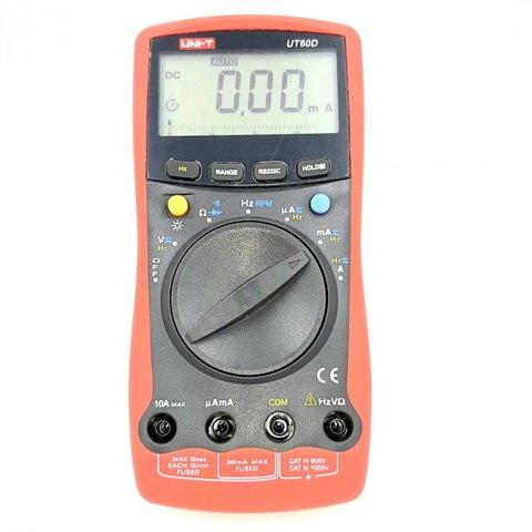 Цифровий мультиметр UNI T UT60D