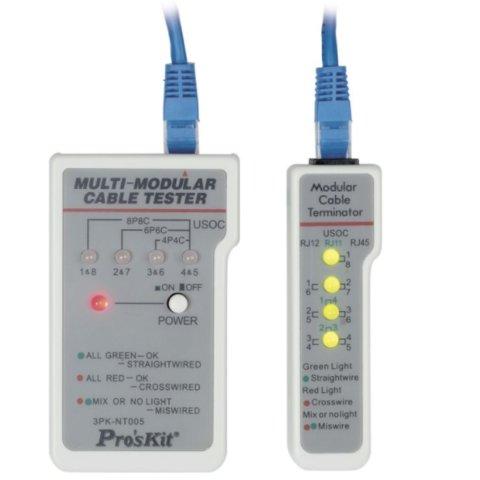 Pro'sKit 3PK NT005N Multi Modular Cable Tester