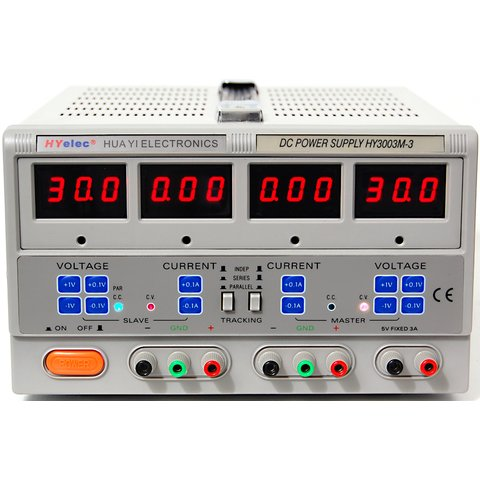 Triple DC Power Supply HYelec HY3003M 3